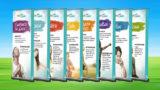 (Novo logotipo) Banners: 8 Remédios – Feira Vida&Saúde