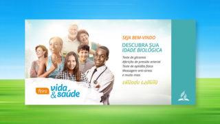 Banner Horizontal: Feira Vida e Saúde 2018