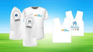 Colete/Camiseta: Feira Vida e Saúde