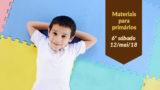 (6ºSáb 2Trim18-Ano C) Materiais Primários