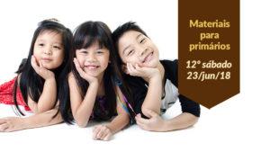 (12ºSáb 2Trim18-Ano C) Materiais Primários