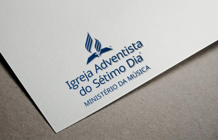 Novo logo: Ministério da Música