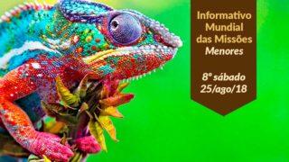 Informativo Mundial das Missões PPT: 8º Sábado 3Trim18