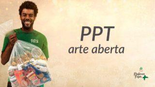 PPT – Arte Aberta – Mutirão de Natal | 2018