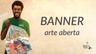 Banner – Arte Aberta – Mutirão de Natal | 2018