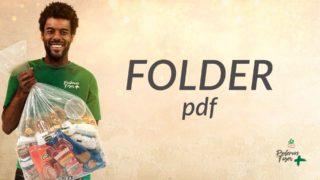 Folder – Mutirão de Natal | 2018