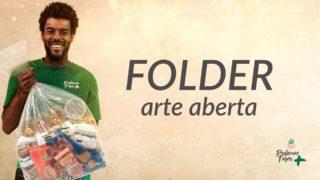 Folder – Arte aberta – Mutirão de Natal | 2018