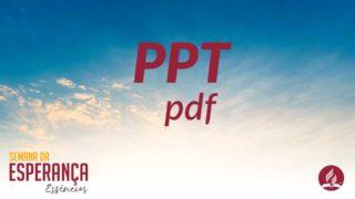 PPT | Semana da Esperança