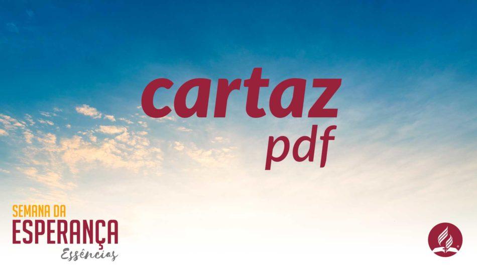 cartaz esperanca
