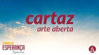 Cartaz – arte aberta | Semana da Esperança