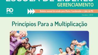 Escola de Líderes – Boletim de Gerenciamento outubro