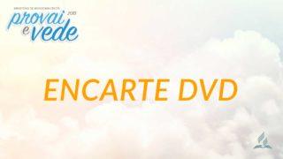Encarte DVD | Provai e Vede 2019