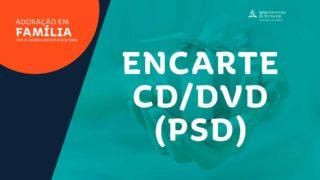 Encarte CD/DVD (arte aberta) | Adoração em Família 2019