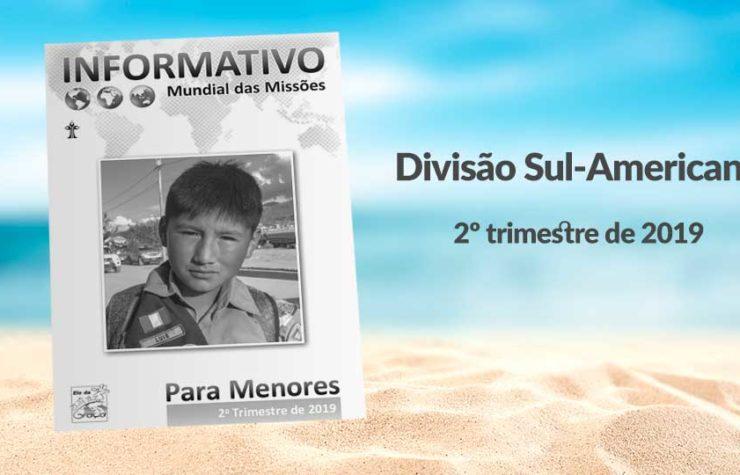 (2ºTrim19: Menores) Informativo Mundial das Missões