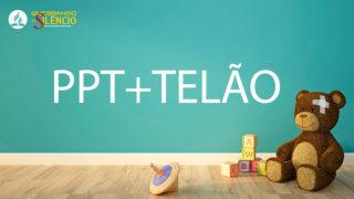 Telas p/ Slides | Quebrando o Silêncio 2019