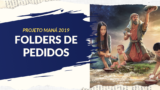 Folders de pedidos | Projeto Maná 2019