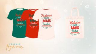 Estampa Camisetas/Sacolas | Mutirão de Natal 2019