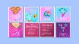 Cartões (modelos 2): Outubro Rosa