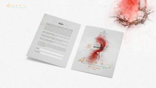Convite: Amor escrito com sangue| Semana Santa 2020