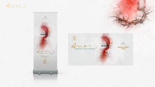 Banners: Amor escrito com sangue| Semana Santa 2020