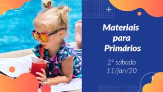 2ºSáb (1Trim20) | Materiais Primários