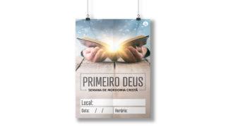 Banner + Cartaz | Semana de Mordomia Cristã 2020