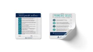 Adesivo Meu Pacto | Primeiro Deus 2020