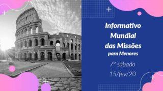 Informativo PPT: 7º Sábado 1Trim20