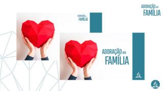 Fundo PPT | Adoração em Família 2020