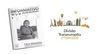 (2ºTrim20: Menores) Informativo Mundial das Missões
