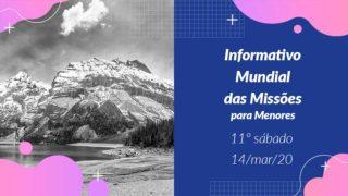 Informativo PPT: 11º Sábado 1Trim20