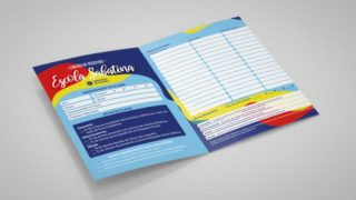 Cartão Registro: Escola Sabatina | Infantil