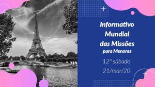 Informativo PPT: 12º Sábado 1Trim20
