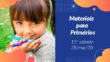 13ºSáb (1Trim20) | Materiais Primários