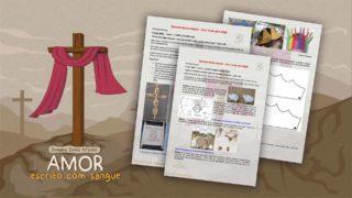 Sugestão de atividades com objetos de casa – Semana Santa infantil