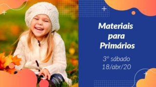 3ºSáb (2Trim20) | Materiais Primários