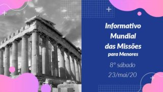 Informativo PPT: 8º Sábado 2Trim20