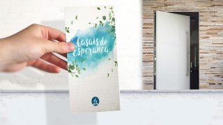 Capa bloquinho de anotações | Casais de Esperança