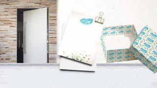 Papel de presente + papel cartão | Casais de Esperança