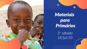 3ºSáb (3Trim20) | Materiais Primários