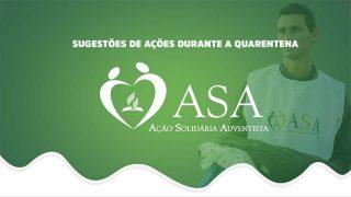 PPT: Sugestões de ações durante a quarentena | ASA