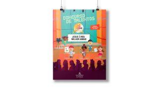 Cartaz: Concurso de Talentos | 25 Anos Ministério da Criança