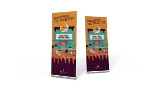 Banner: Concurso de Talentos | 25 Anos Ministério da Criança