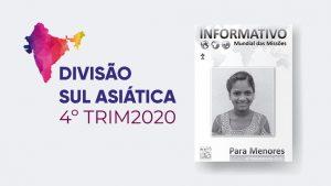 (4ºTrim20: Menores) Informativo Mundial das Missões