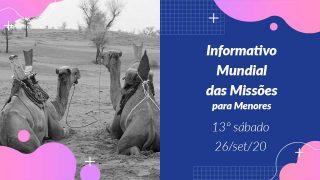 Informativo PPT: 13º Sábado 3Trim20