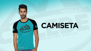 Camiseta – Missão Calebe 2021