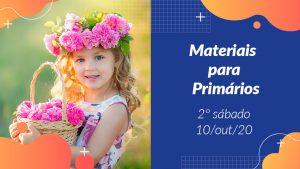 2ºSáb (4Trim20) | Materiais Primários