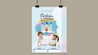 Cartaz + Arte Aberta | Escola Cristã de Férias 2021