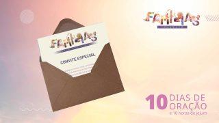 Convite Impresso | 10 Dias de Oração 2021