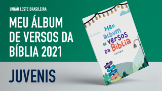 Meu álbum de versos da Bíblia -2021|Juvenis